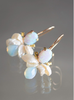 BAROQUE BUMBLE BEES (Pearl & Opal)