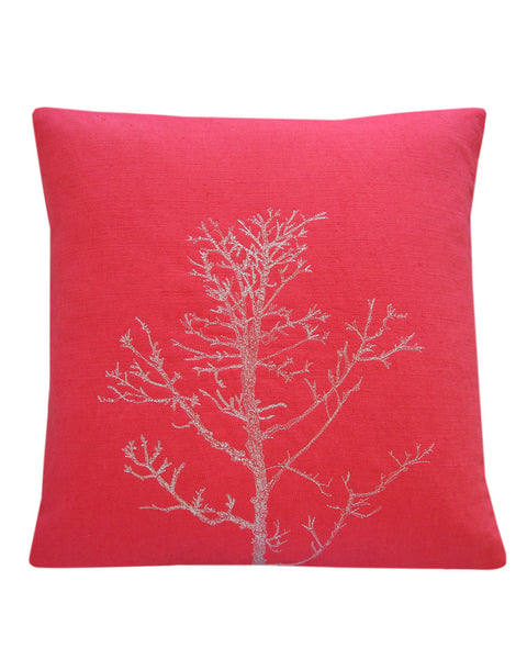 Winter Tree Raspberry - cushion cover
