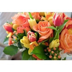 Scented Short Bouquet, Flowers - Oasis Florists