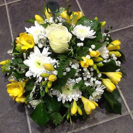 Traditional Funeral Posie, Posie - Oasis Florists