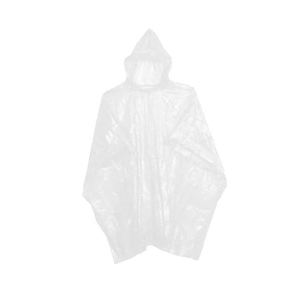 Rain poncho for events