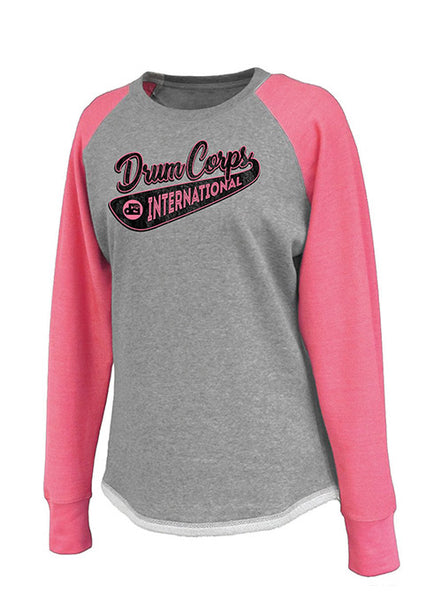DCI Ladies Raglan Crewneck
