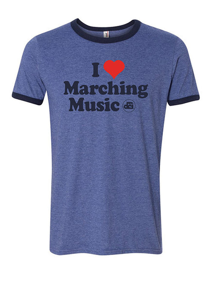 DCI I Love Marching Music T-shirt