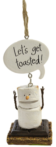 Toasted S'Mores Let's Get Toasted! Christmas/ Everyday Ornament