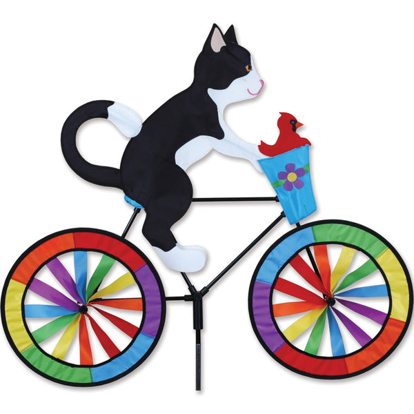 Tuxedo Cat Bicycle Spinner - Islander Flags of Kitty Hawk, Inc.