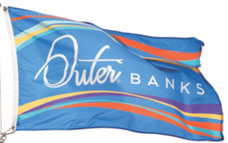 Custom Nylon Flags - Single/Reverse - Islander Flags of Kitty Hawk, Inc.