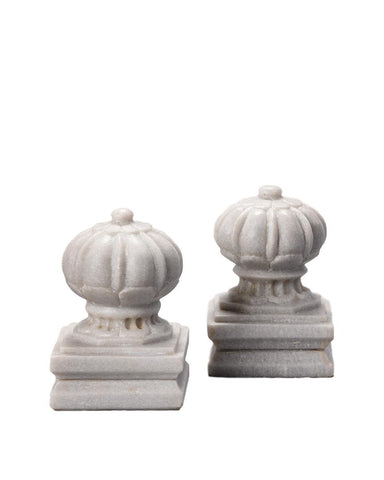 Marble Doorstop / Bookend Set of 2