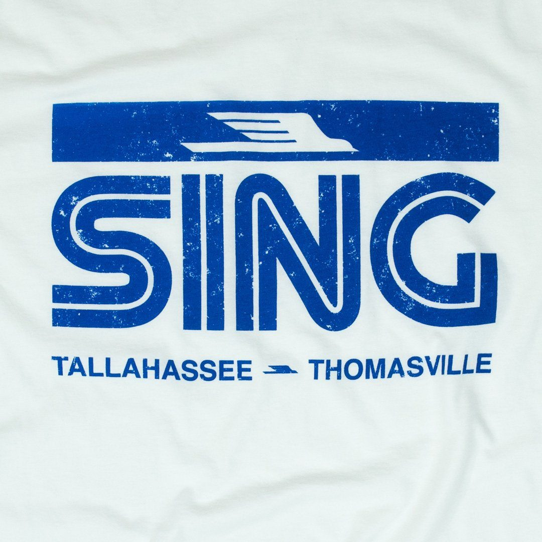 Sing Stores T-Shirt Graphic White Men's
