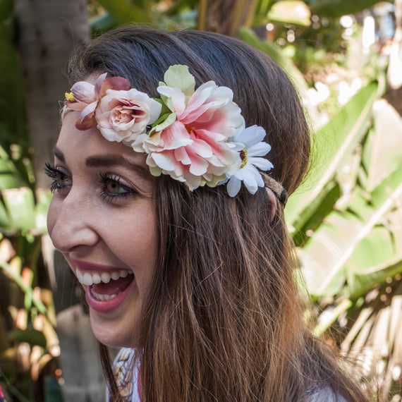 Boho Bride - Flower Crown