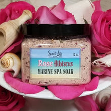 Marine Spa Soak Rose Hibiscus | Sweet Life Spa