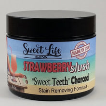 "Strawberry Slush ""Sweet Teeth"" Charcoal Stain Removing Powder 