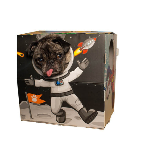 animal photo booth space man astronaut
