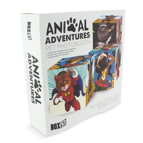 animal adventures photobooth photo booth box packaging package