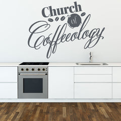 Church of Coffeeology Wall Decal