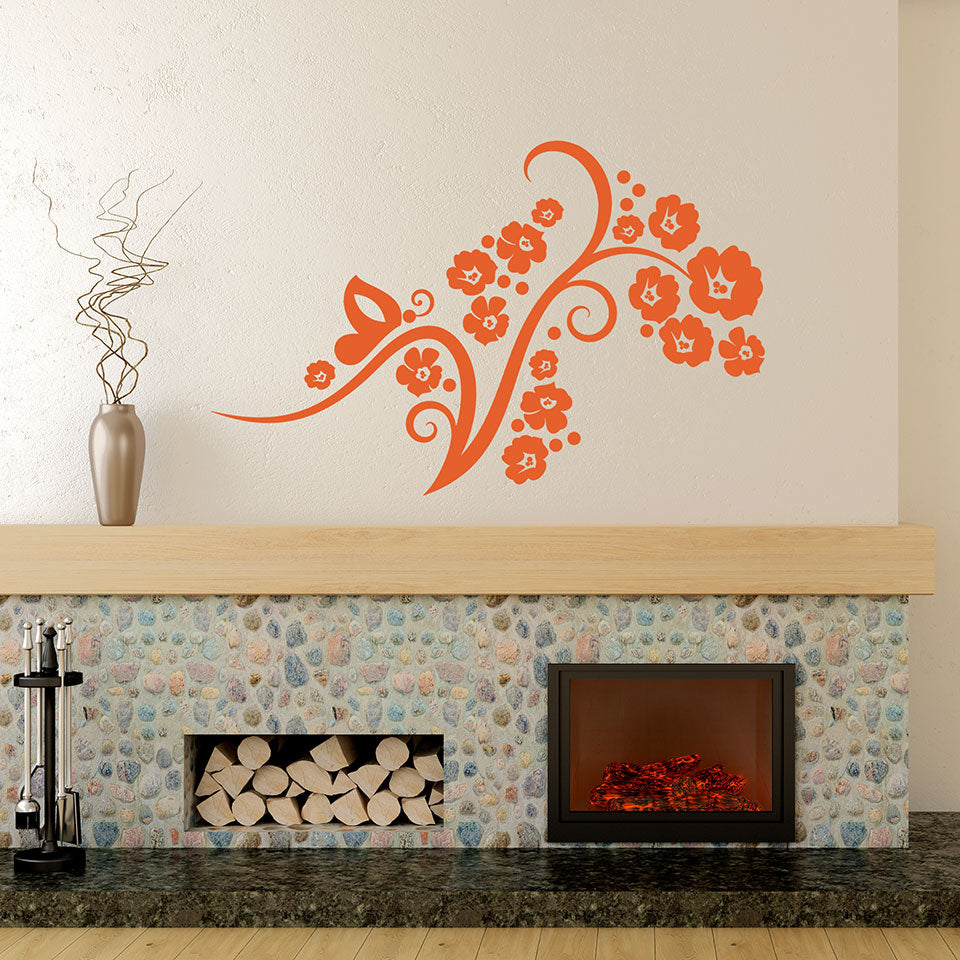 Flower Fascination Decal