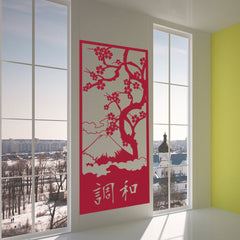 Japanese Harmony-Wall Decal