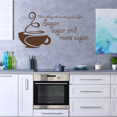 Sugar Wall Quote-Wall Decal