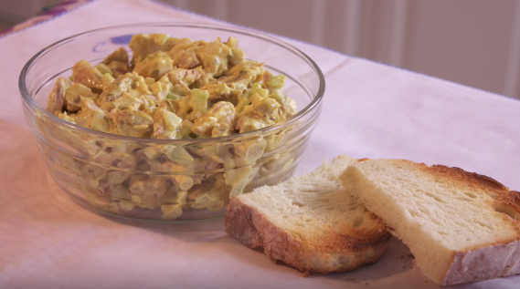 Corine's Spicy Chicken Salad