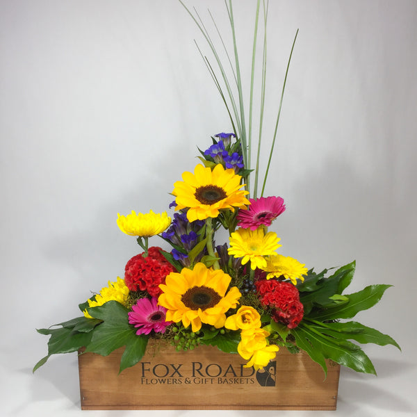 Wooden Flowers from Wellington florist