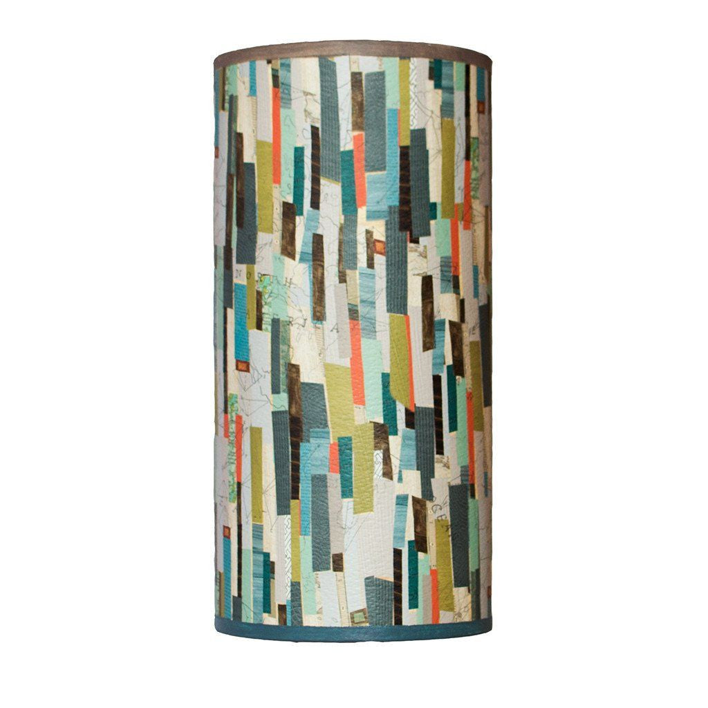 Papers Accent Tube Lamp Shade