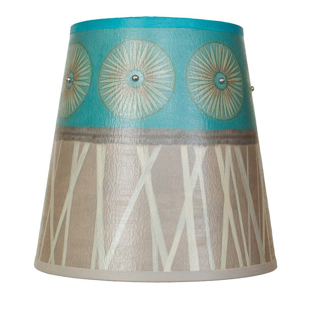 Pool Accent Drum Lamp Shade