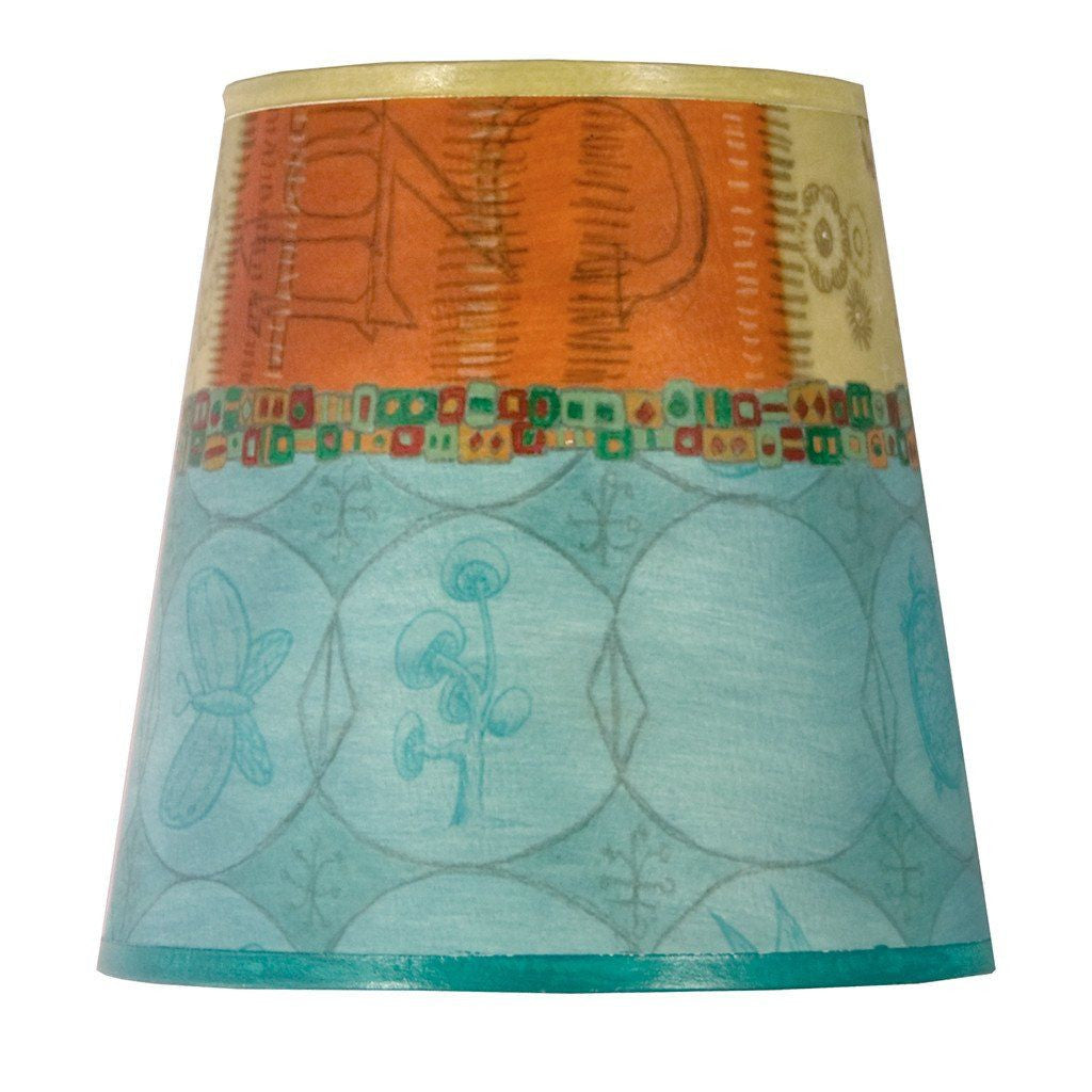 Paradise in Pool Accent Drum Lamp Shade