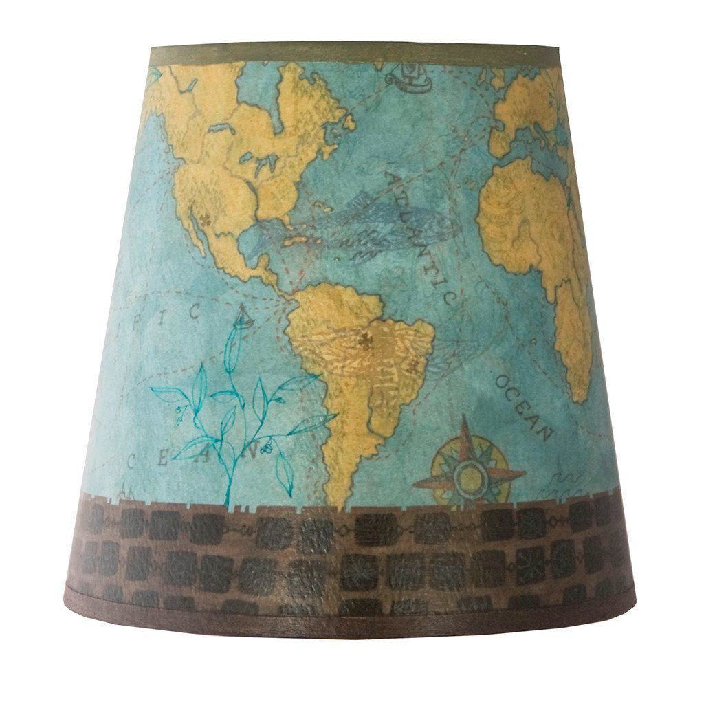 Voyages Accent Drum Lamp Shade