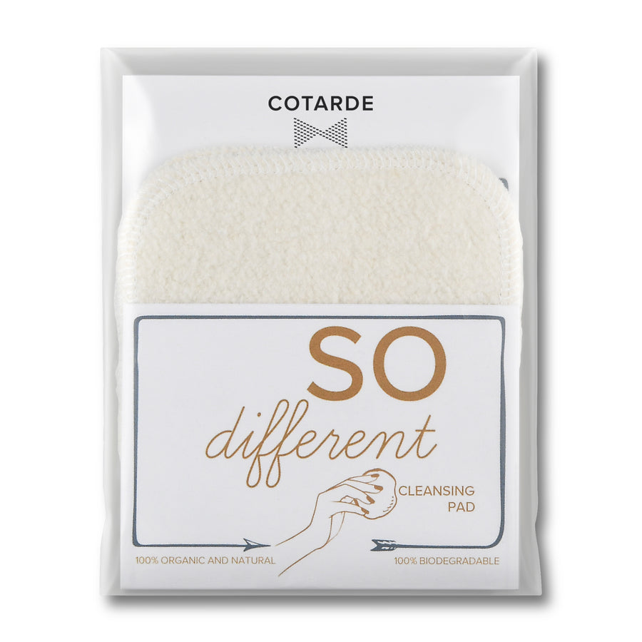 So Different Cleansing Pad - biodegradable