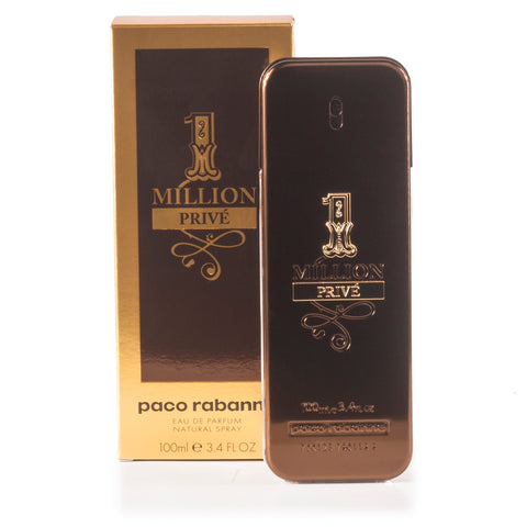 1 Million Prive Eau de Parfum Spray for Men by Paco Rabanne 3.4 oz.