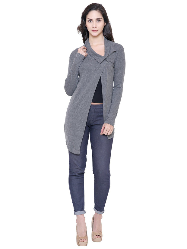 Charcoal Grey Shrug for women