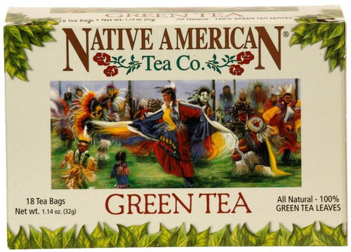 Green Tea - Native American Herbal Tea 12ct (6 pack)