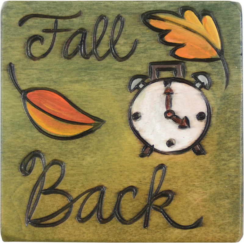 Large Perpetual Calendar Magnet –  This magnet reminds you to turn back your clocks each November