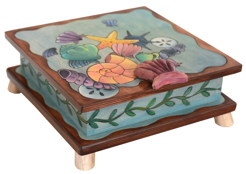 Keepsake Box – Collect your own seashells in our seashell motif keepsake box