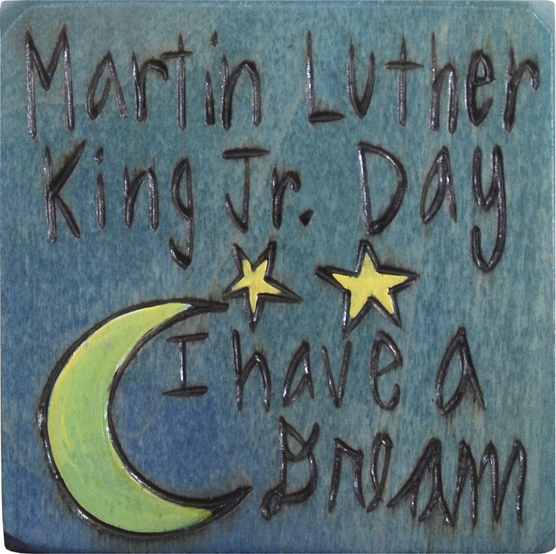 "Large Perpetual Calendar Magnet –  Martin Luther King Jr. Day, ""I have a Dream"" perpetual calendar magnet"