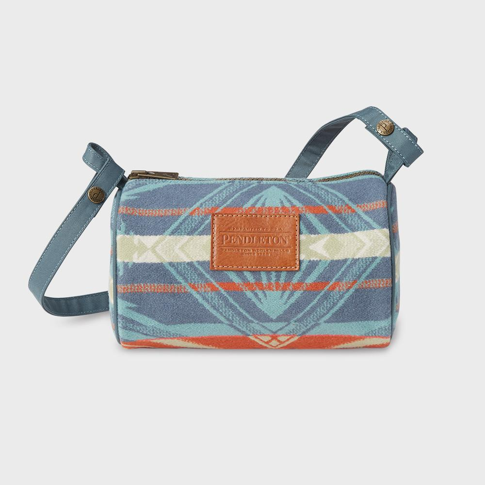 Pendleton Travel Kit With Strap Aqua/Coral