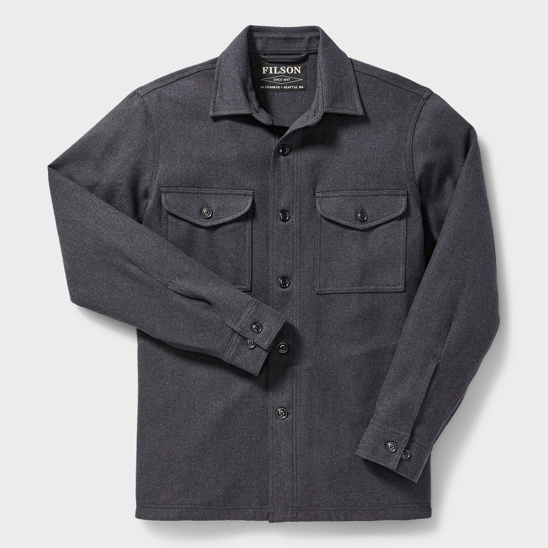Filson Deer Island Jac-Shirt Navy Heather