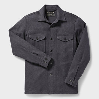 product: Filson Deer Island Jac-Shirt Navy Heather