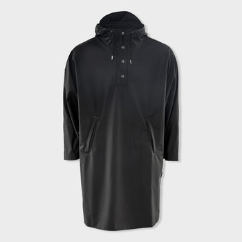 product: RAINS Poncho Black