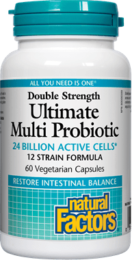 Natural Factors Double Strength Ultimate Multi Probiotic