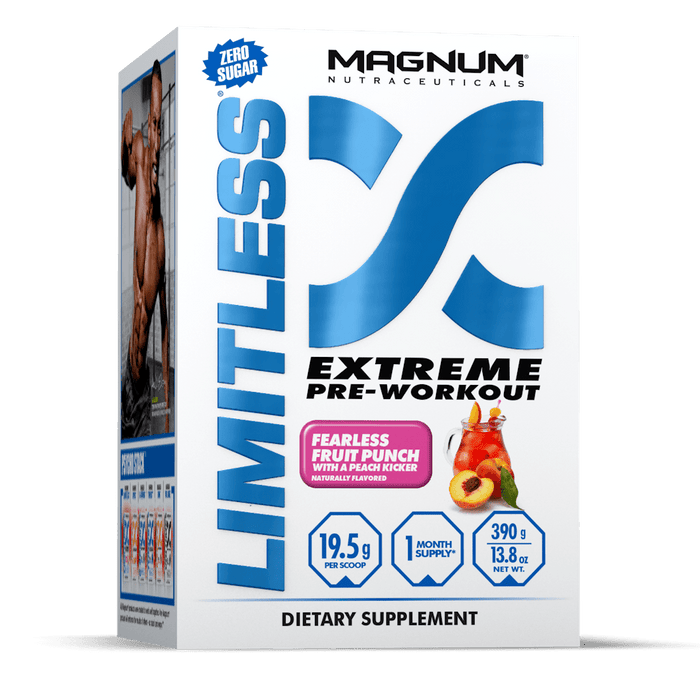 Magnum Nutraceuticals Limitless Fearless Fruit Punch With A Peach Kicker 390 g