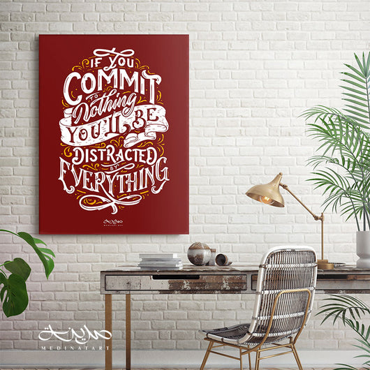 Commit or Distracted