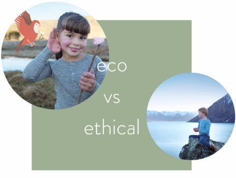 eco fashion vs. ethical fashion