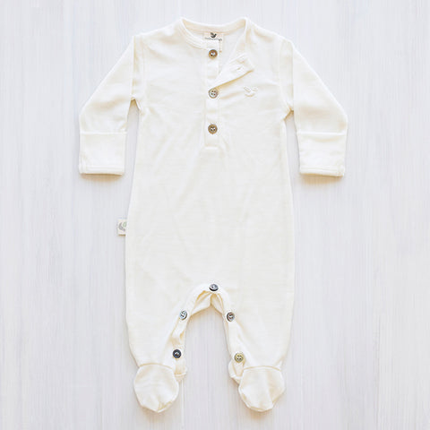 cream merino jumpsuit