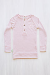organic merino long sleeve top