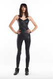 SPRWMN ankle leather legging