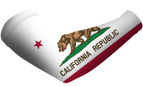 California State Flag Arm Sleeves