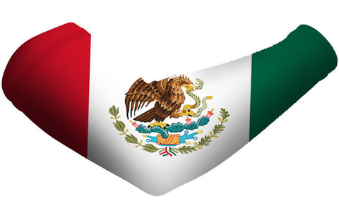 Mexico Country Flag Arm Sleeves