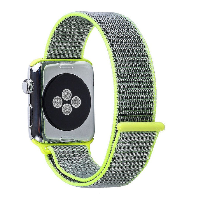 Apple Watch Sport Loop Band (Yellow and Gray)