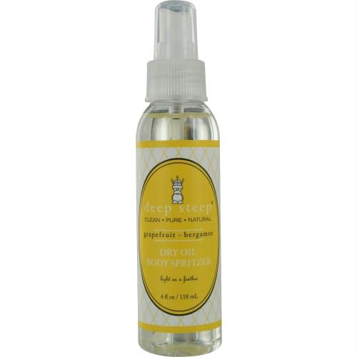Deep Steep Grapefruit-bergamot Dry Body Oil 4 Oz By Deep Steep