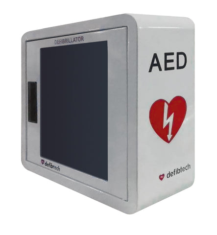 Defibtech - Wall Mount Cabinet with Alarm